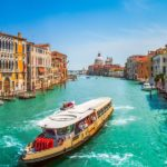 Italy Venice Grand Canal Teal Gold Rust Pan PP