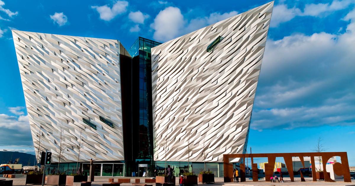 Northern Ireland-Belfast-Titanic Belfast