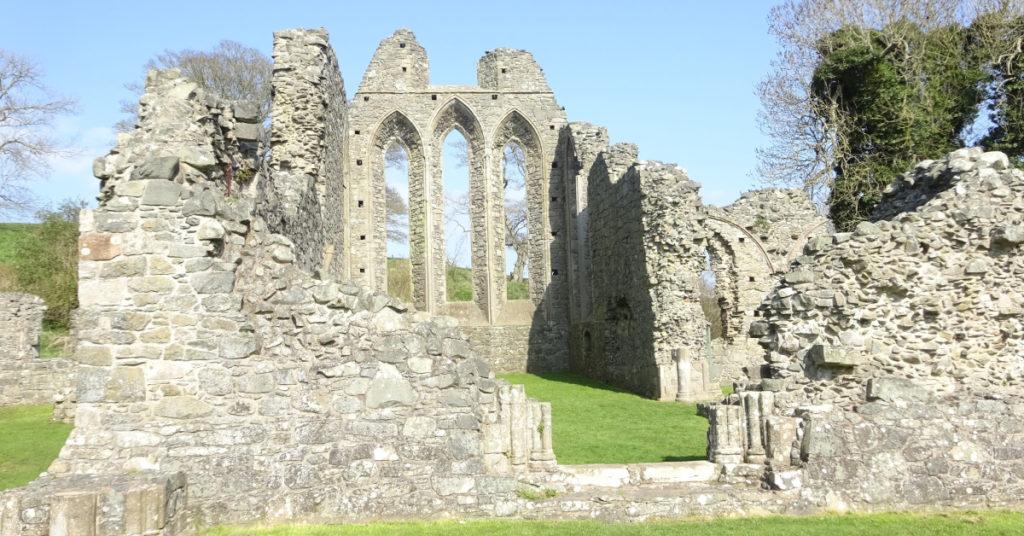 Northern Ireland Downpatrick Inch Abbey