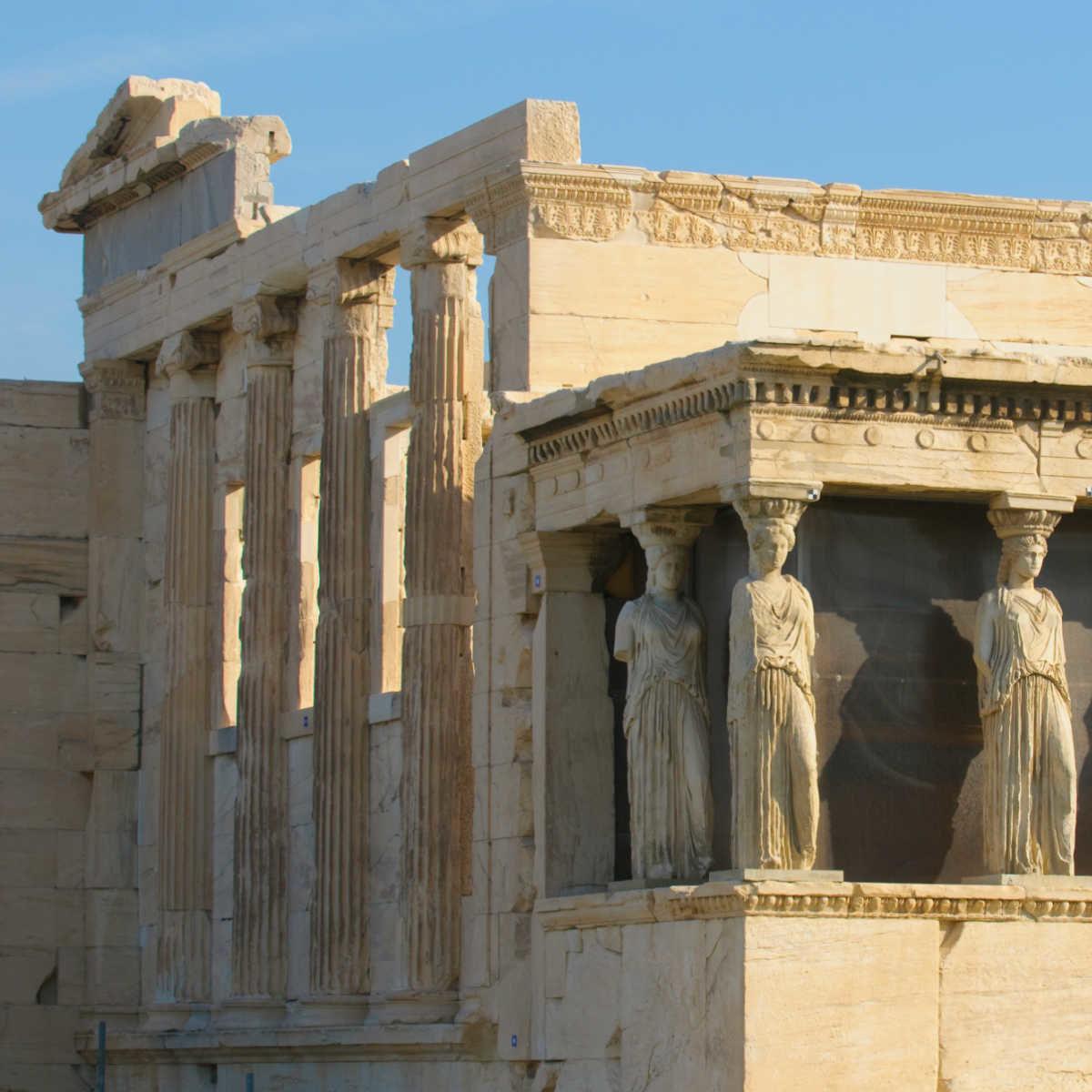 Greece Athens Acropolis Caryatids