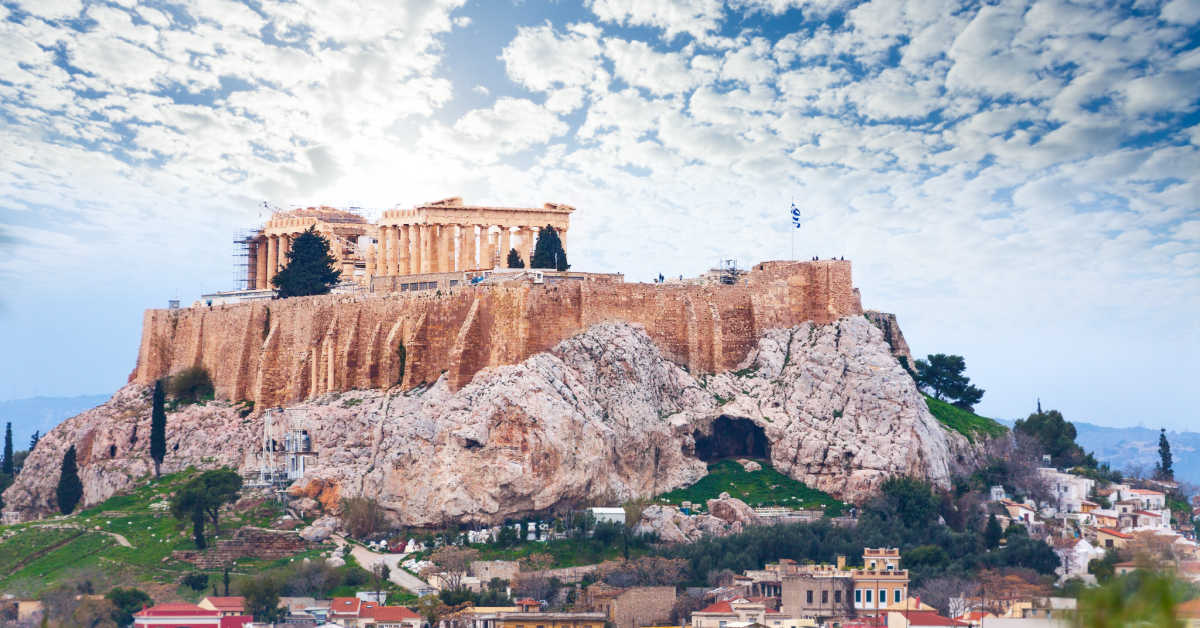 Greece Athens Acropolis Hill