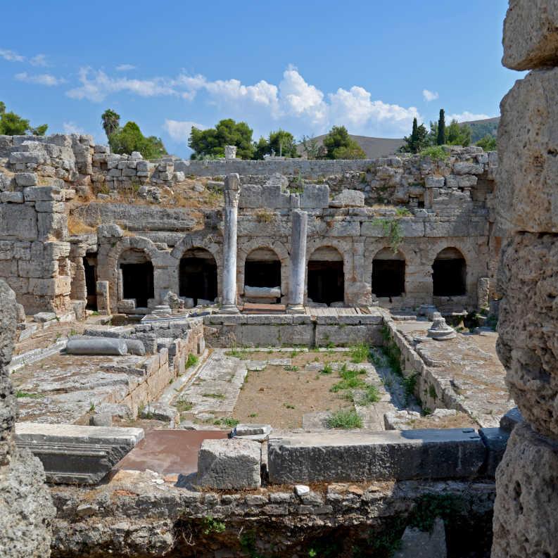 Greece Corinth Archaeological Sites
