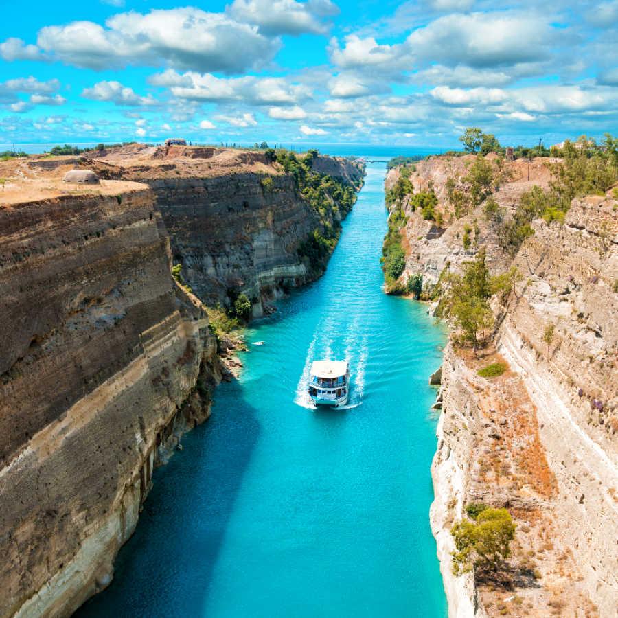 Greece Corinth Canal