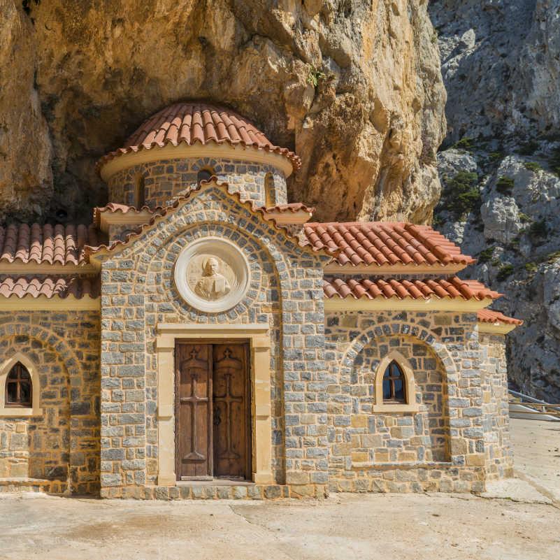 Greece Crete Church St Nicholas Wonderworker