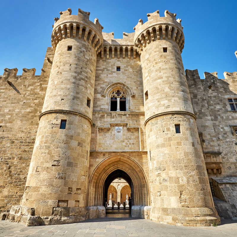 Greece Rhodes Knights Grand Master Palace