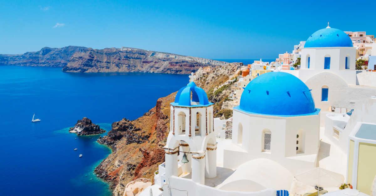 Greece Santorini Oia View