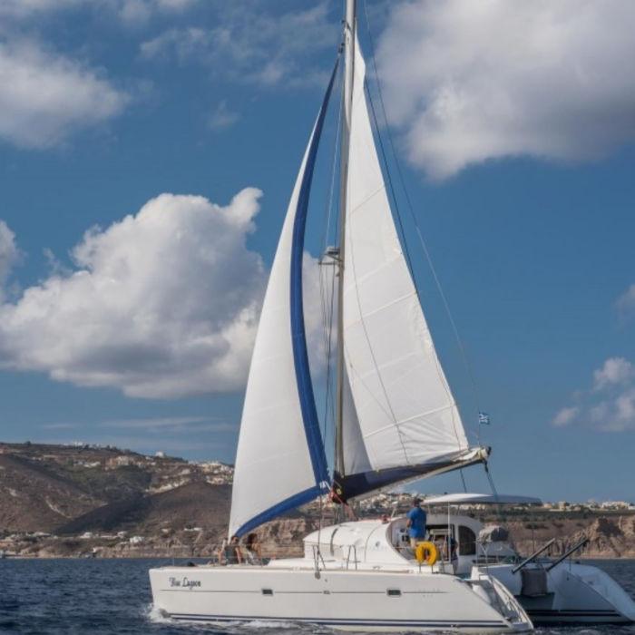 Greece Santorini Sailing