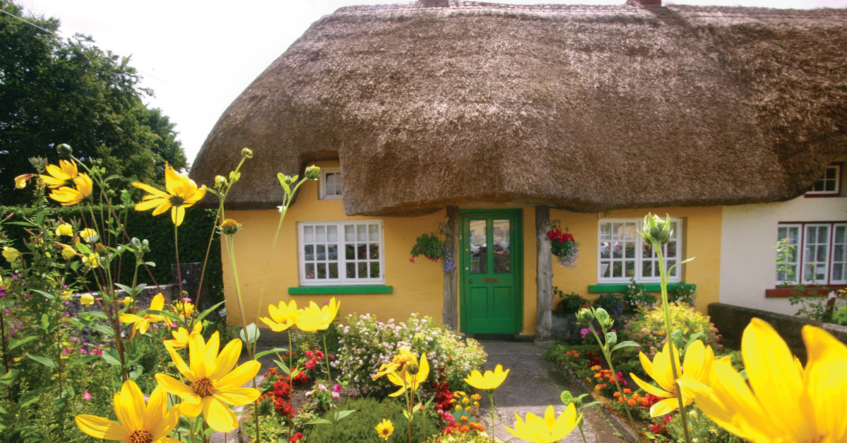 Ireland Adare Thatch Cottage