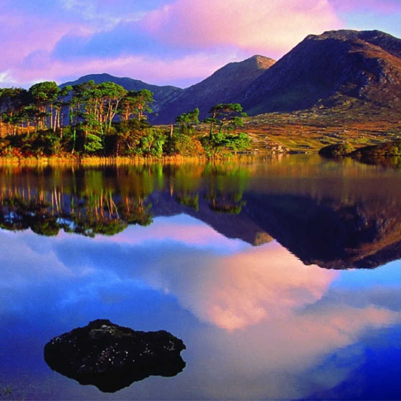 Derryclare Lough, Connemara, Co Galway