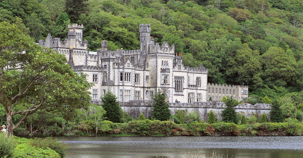 Ireland Connemara Kylemore Abbey