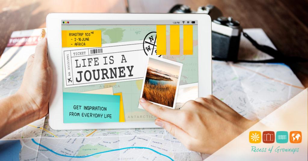 Trip Travel Destinatiion Explore Tour Concept