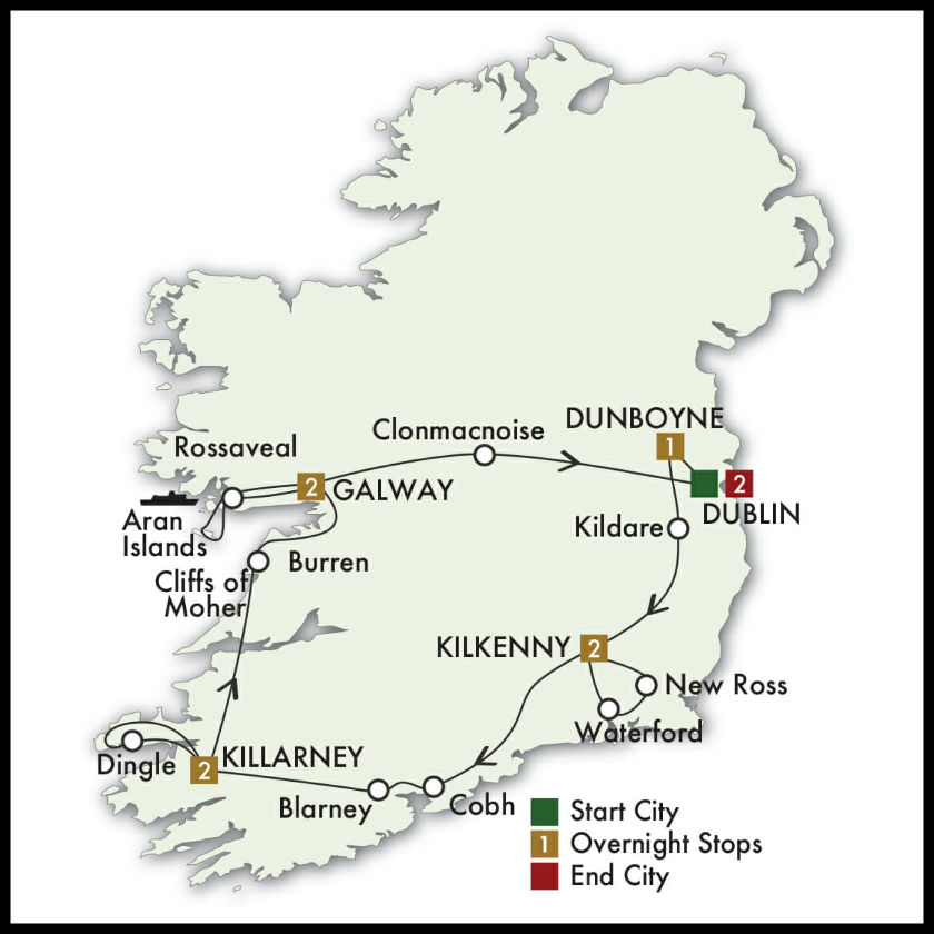 Celtic Journey Ireland Tour