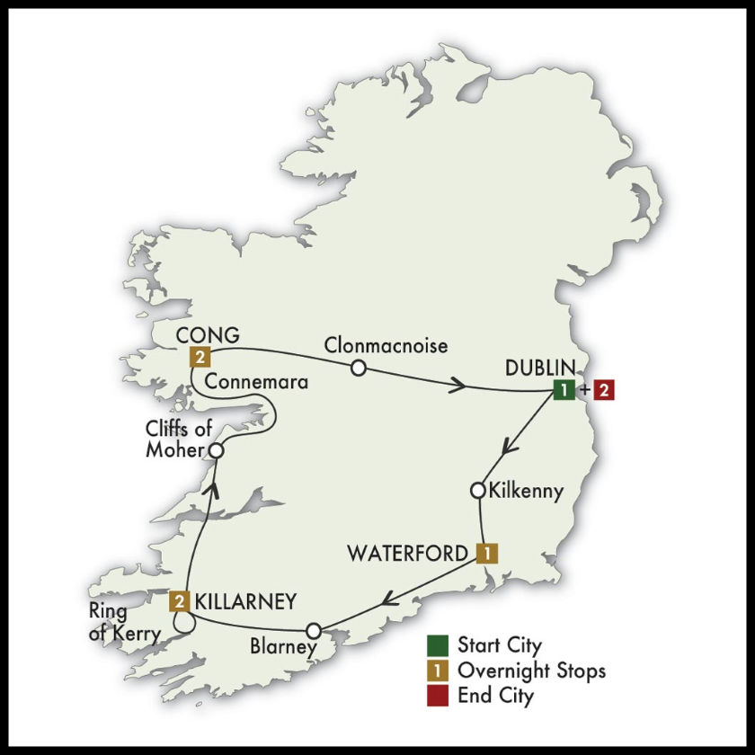 Charming Ireland Tour Navy vs Notre Dame