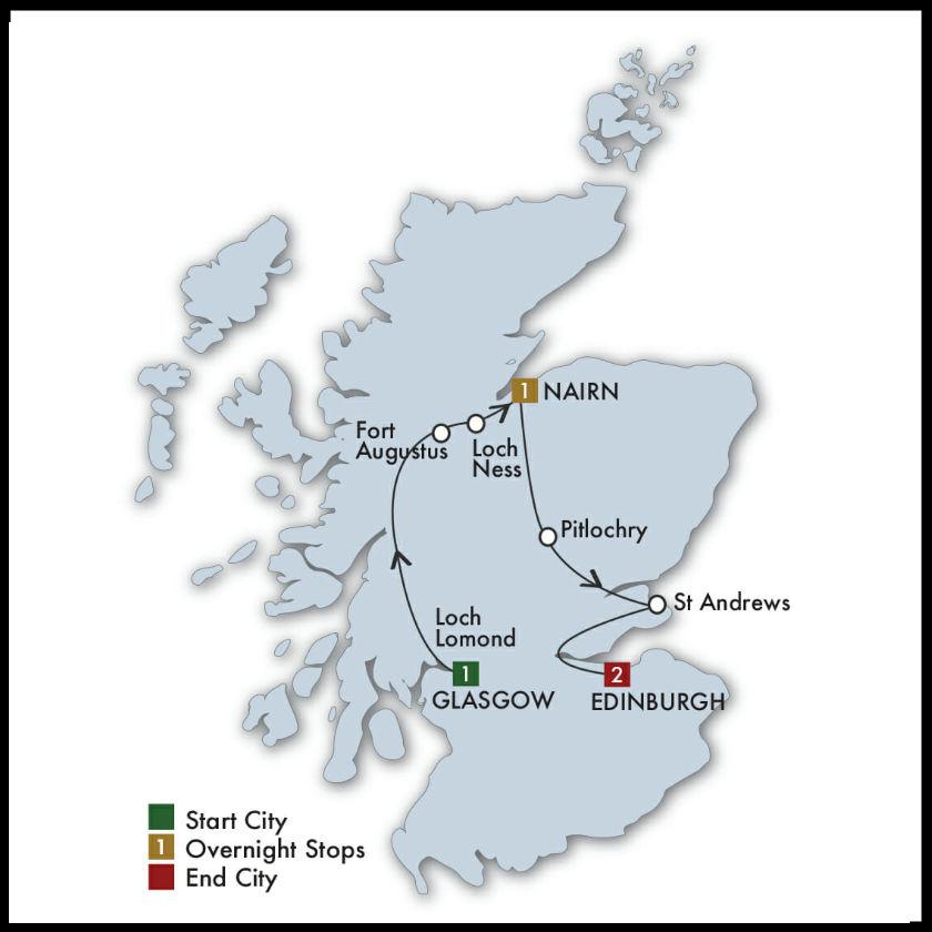 Scotland Jaunt Tour Notre Dame vs Navy