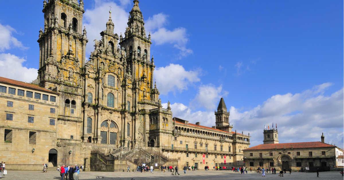 Santiago de Compostela Cathedral - Galicia, Spain