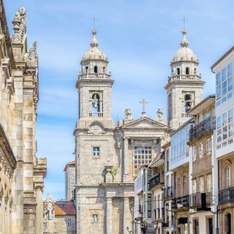 Church in Santiago de Compostela, Galicia, northern Spain