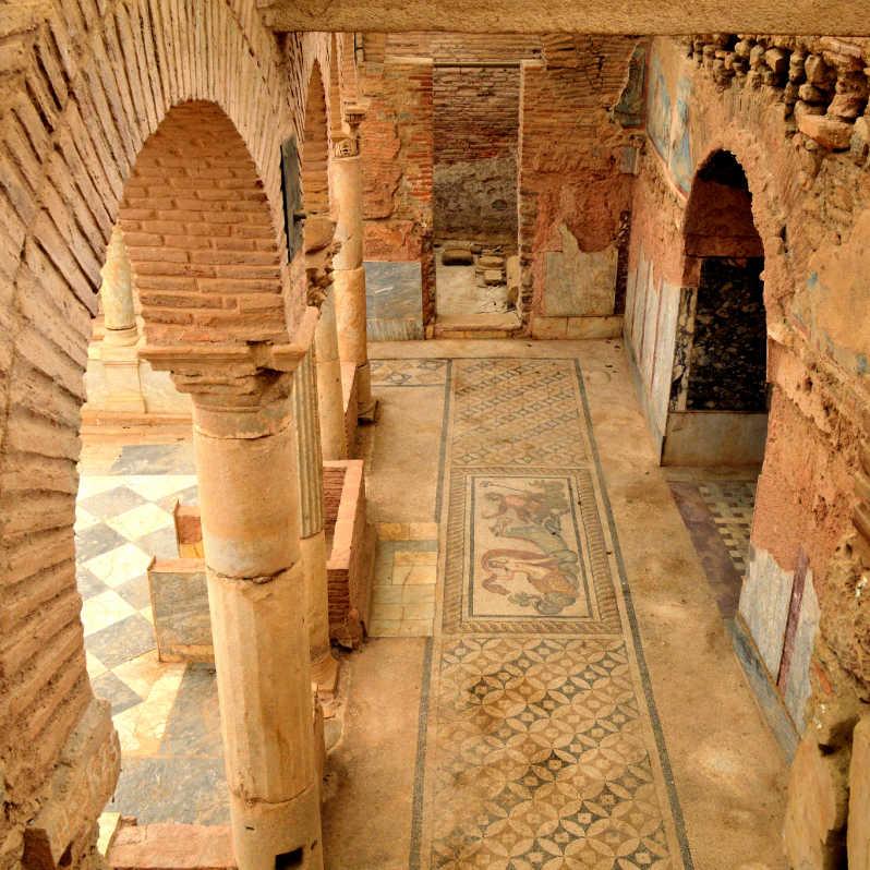 Turkey Ephesus Terrace Houses Arches